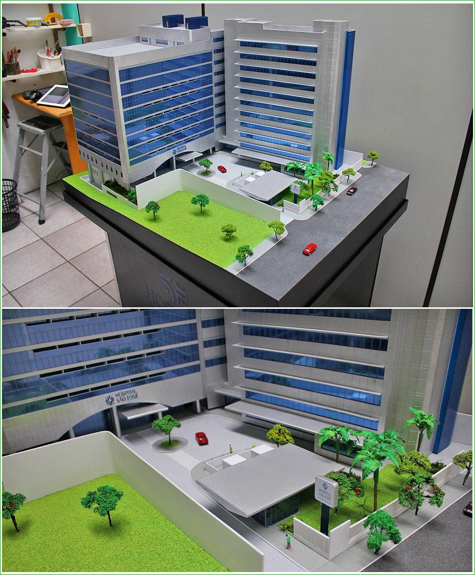 Maquete Hospital